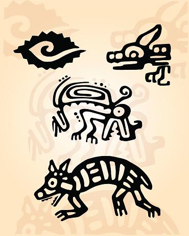 Prehispanic Clip Art, Vector Images & Illustrations.