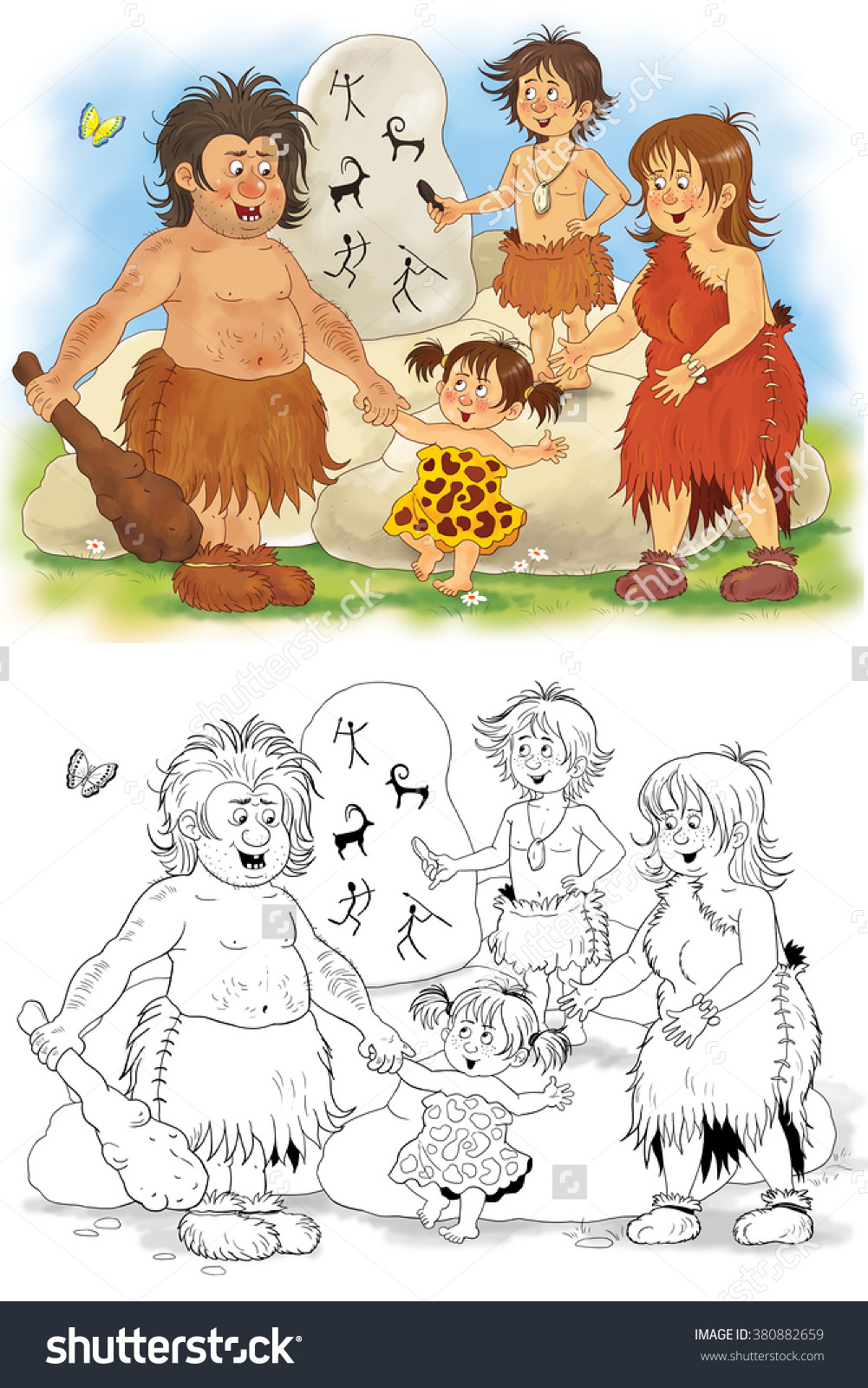 History Family History Fashion Family Prehistoric Stock.