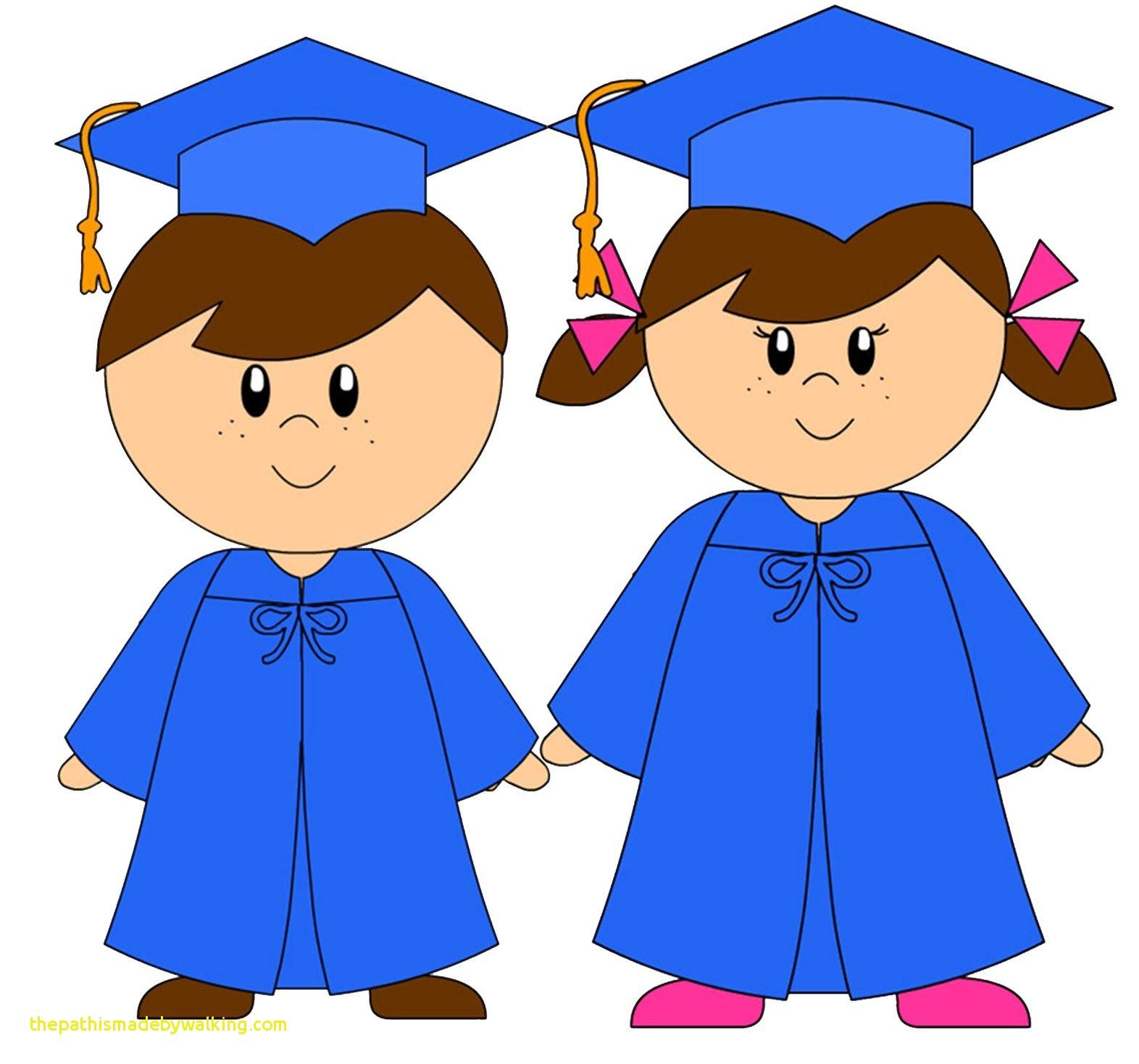 Graduation Preschool Clipart.