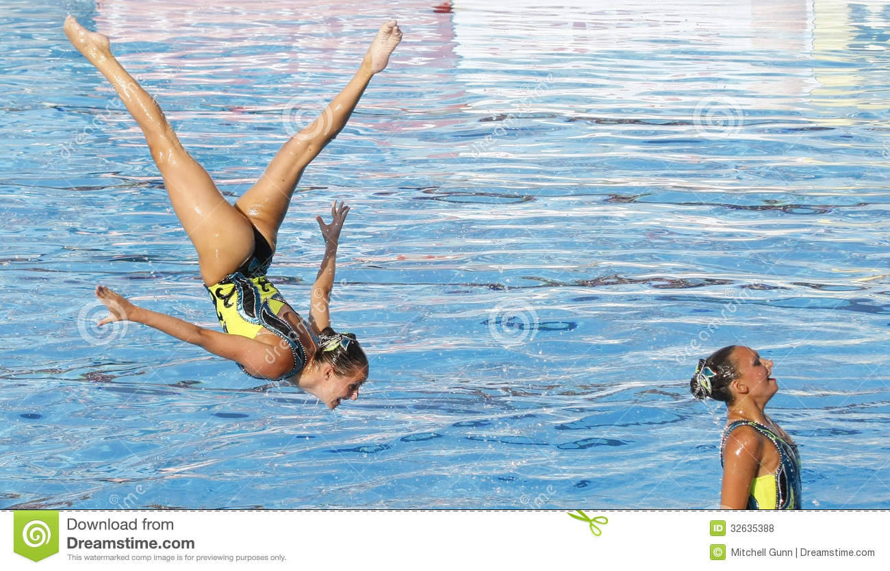SWM: World Championship Women's Team Sychronised Swimming.