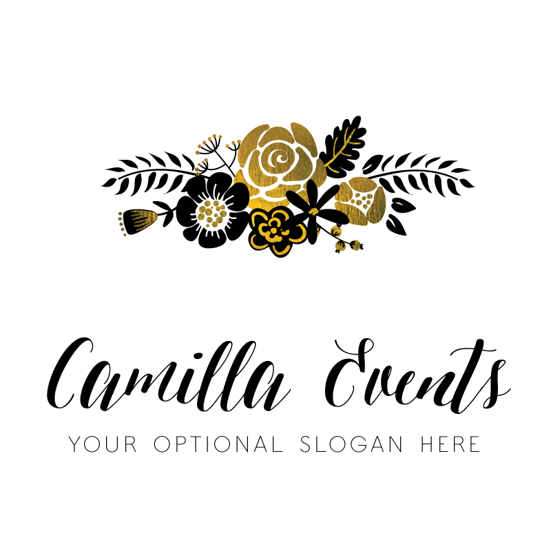 Camilla Premade Logo Design.