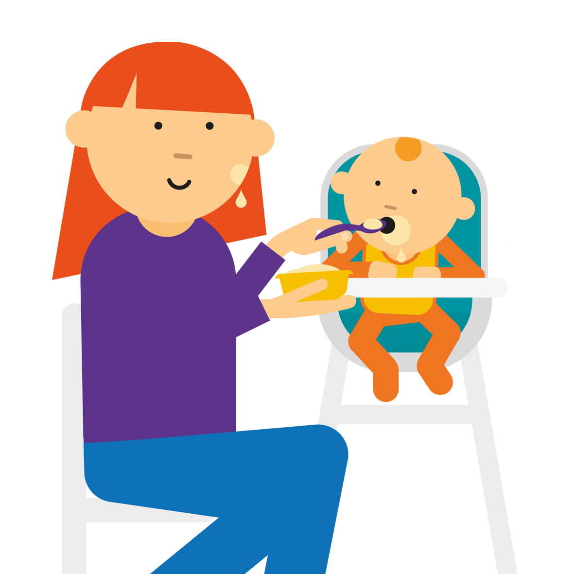 Weaning your premature baby.