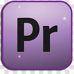 Application Icon Set, Premiere, Adobe Premier logo.