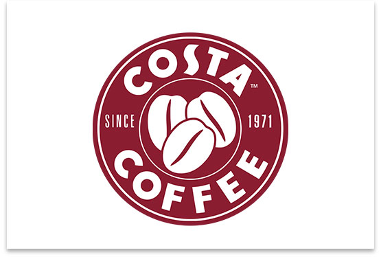 Buy 1 Get 1 Free on Hot or Cold Beverages with Costa Coffee.