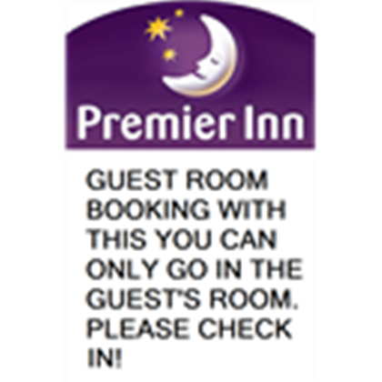 The Premier Inn Guest Room Booking T.