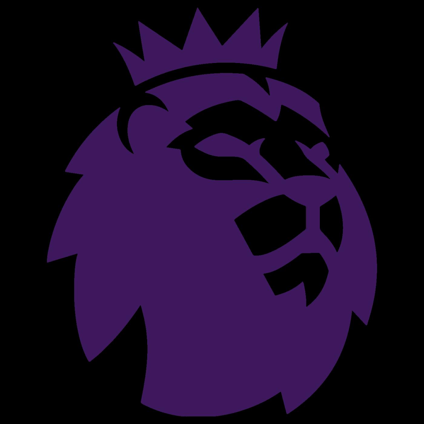 Premier League Lions Head Vector Logo.