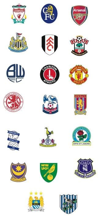 English Premier League Team Logos free image.