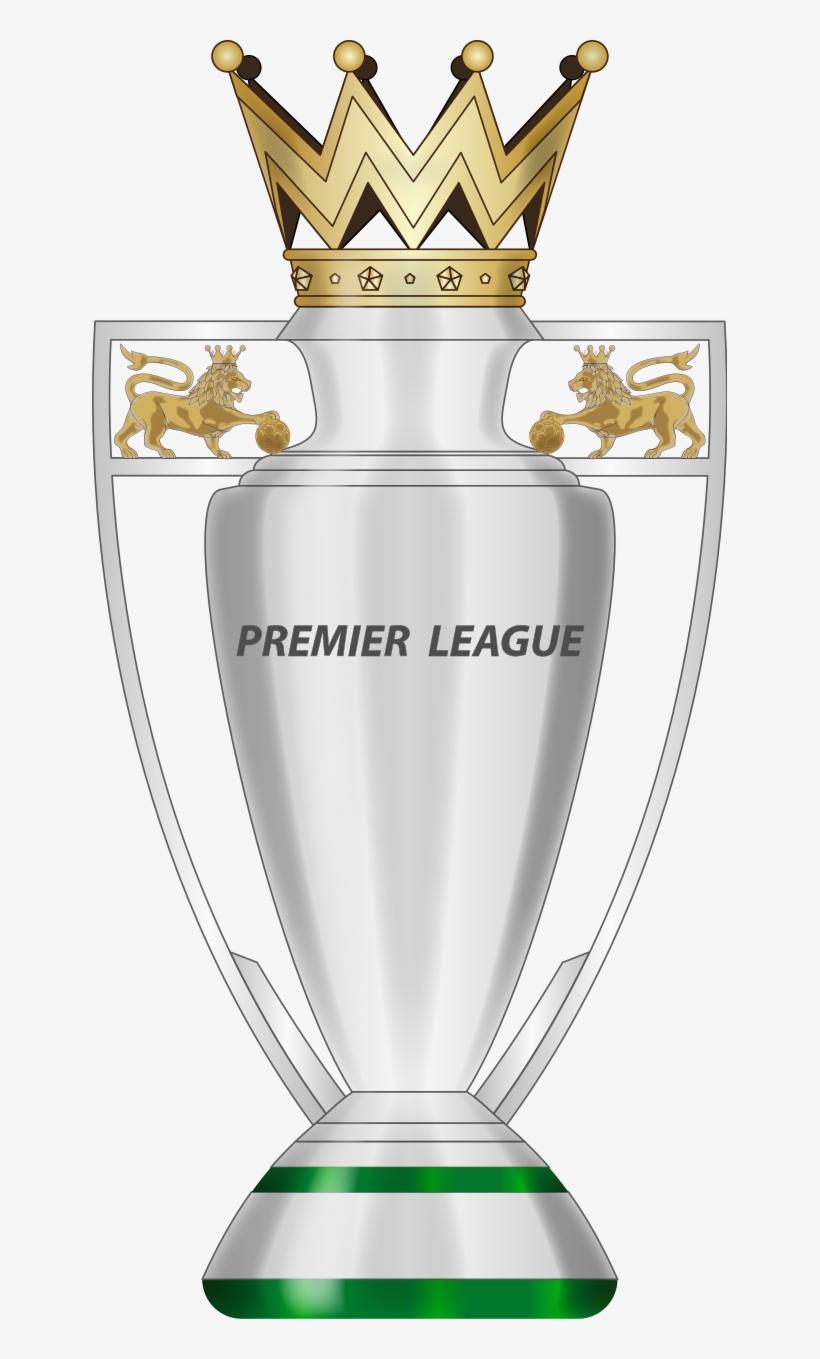 Premier League Trophy Trophy Cup, Premier League, Badge.