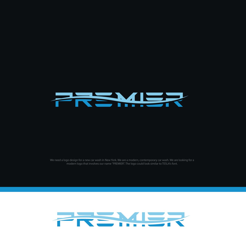 Modern, Elegant Logo Design for Premier, or Premier Car Wash.