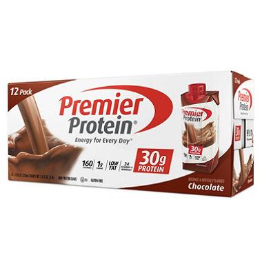 Premier Protein High Protein Shake, Chocolate (11 fl. oz., 12 pack.