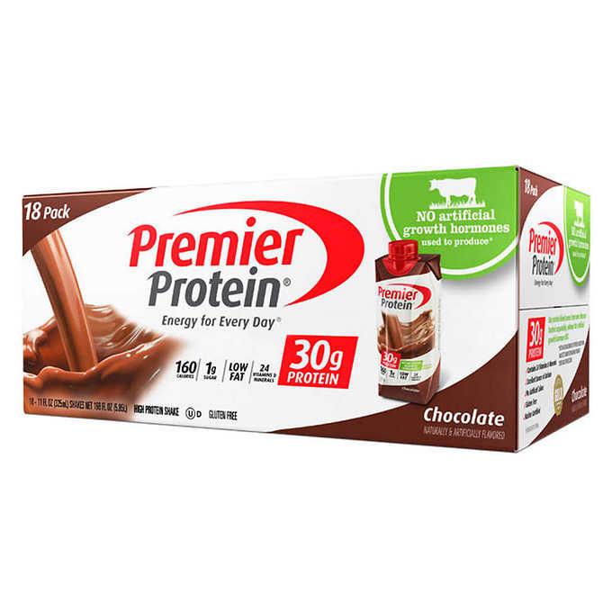 Premier Protein Hormone Free Shakes 11 oz., 18.