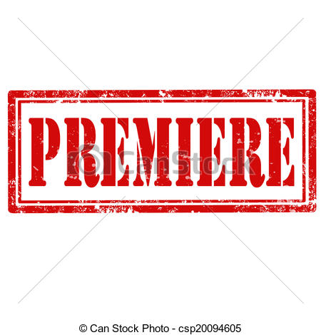 Vector Clipart of Premiere.