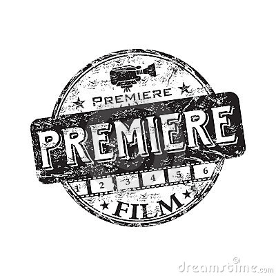 Film Premiere Royalty Free Stock Photography.