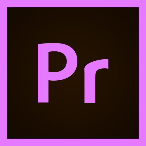 Adobe Premiere Pro Logo.