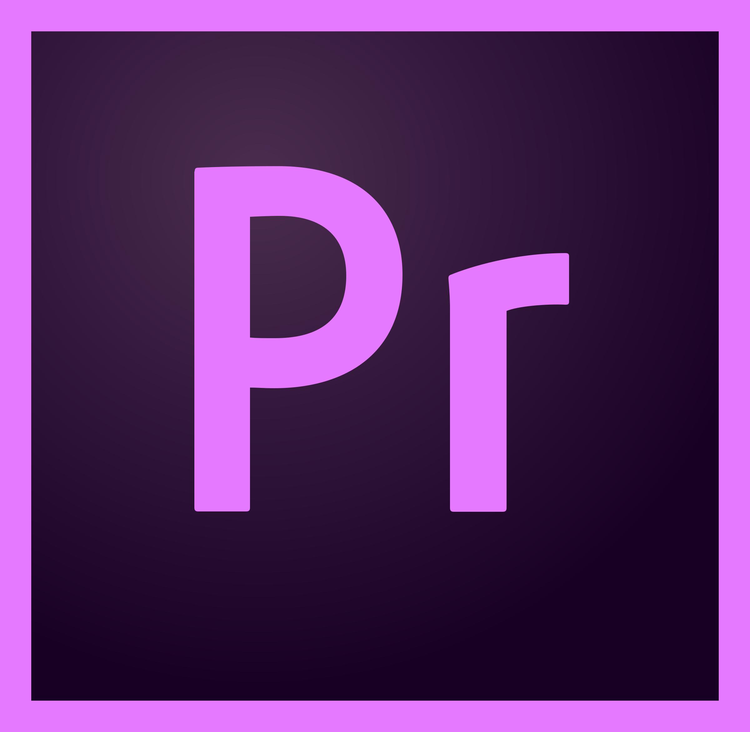 Premiere Pro CC Logo PNG Transparent & SVG Vector.