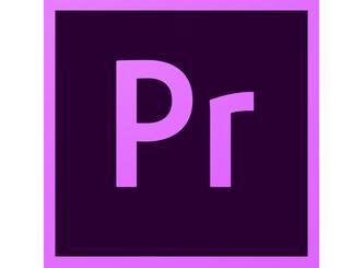 Adobe Premiere Pro CC.