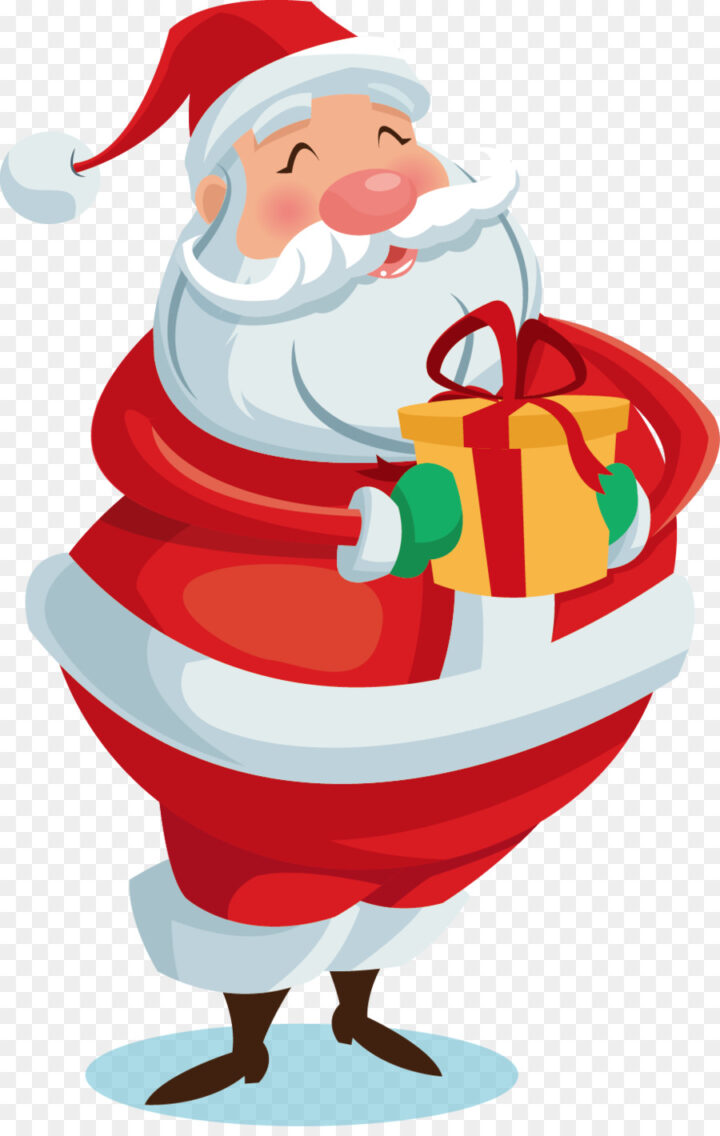 Big Christmas Presents PNG Image Vector And Clipart.