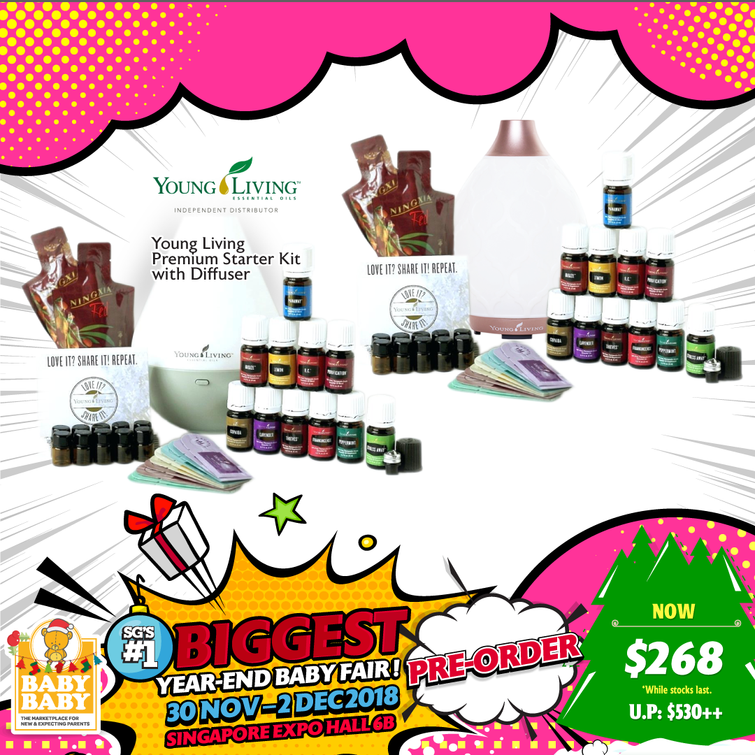 Young Living Premium Starter Kit with Diffuser.