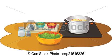 Food Prep Clipart.