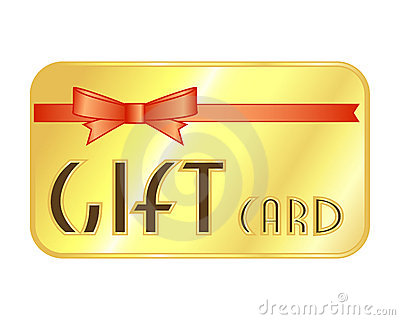 Gift Card Stock Photography.