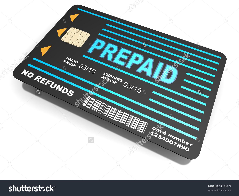 Prepaid clipart.