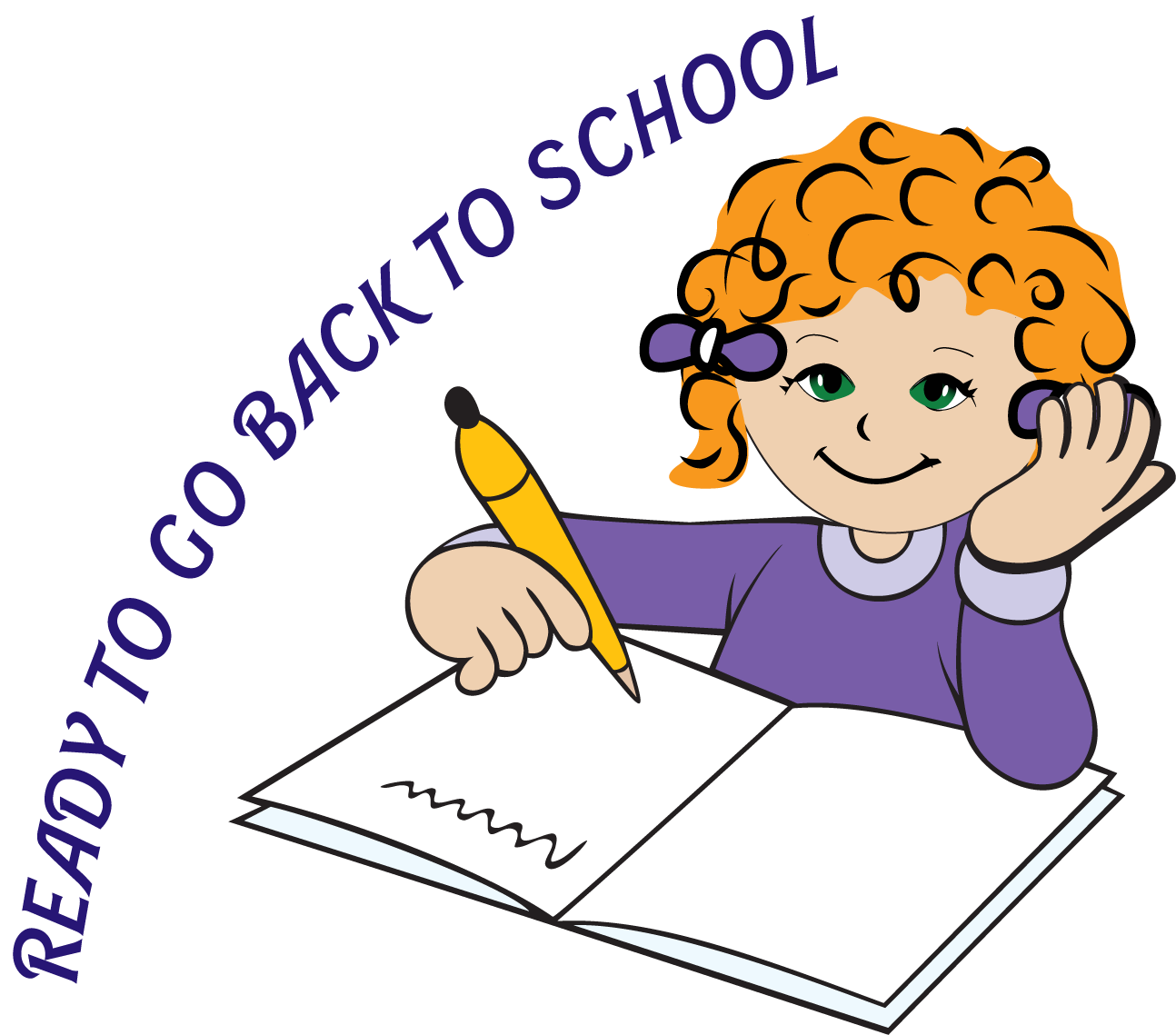 Prepare For Back To School Clipart.
