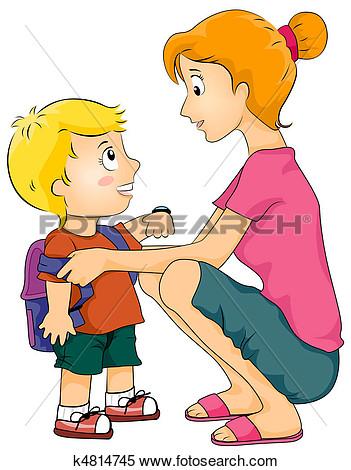 Showing post & media for Preparing for school boy cartoon.