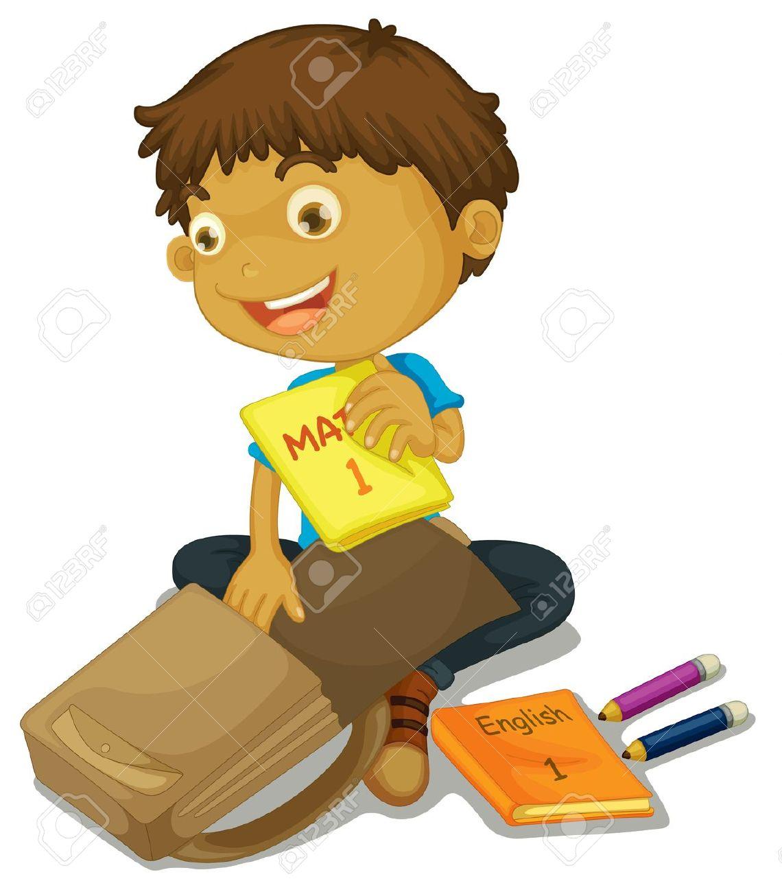 Showing post & media for Preparing for school cartoon.