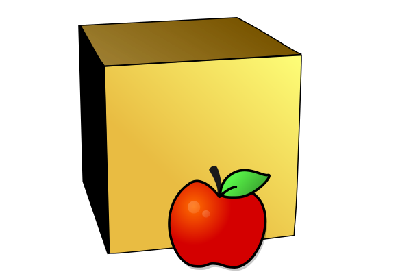 In Front Of Preposition Clipart.