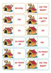 Prepositions Clipart.