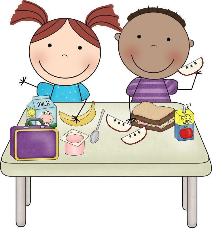 Collection of free Arriving clipart preschool snack time.
