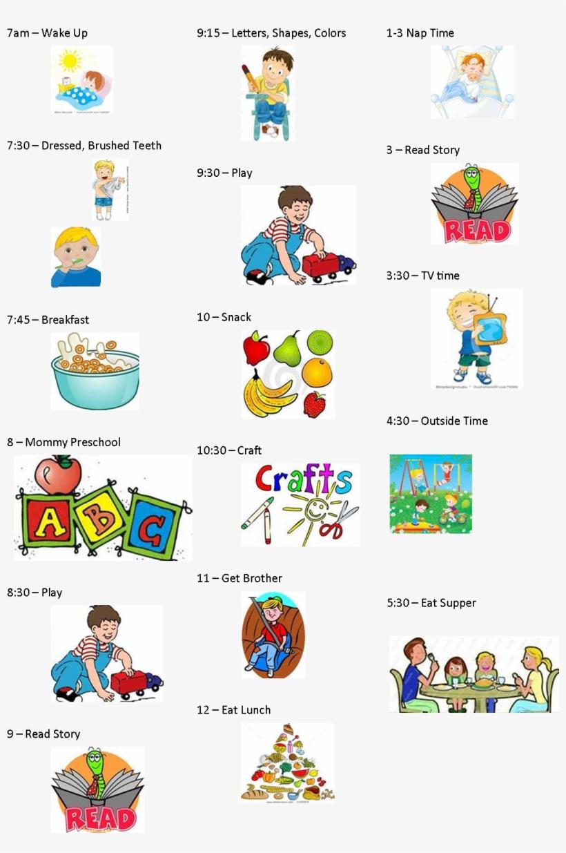 Calendar Clipart Preschool.