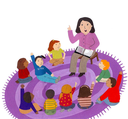 Circle time clipart clipart.