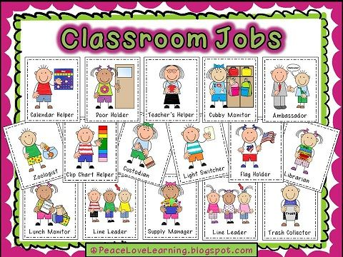 25+ best ideas about Preschool Job Chart on Pinterest.