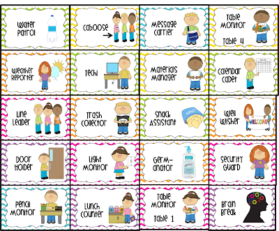 27 Eye Catching Preschool Helpers Chart Ideas.