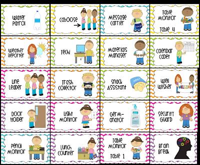 27 Eye Catching Preschool Helpers Chart Ideas.
