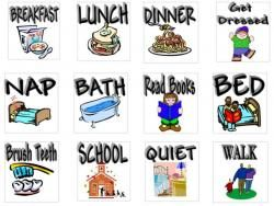 Toddler pictures free printables. Schedule clipart daily.