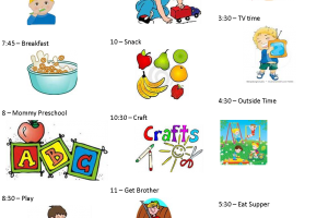 Preschool daily schedule clipart 5 » Clipart Portal.