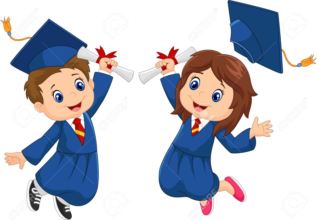 Kids graduation clipart 6 » Clipart Station.