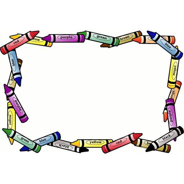 9 Kindergarten Border Designs Images.