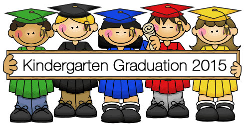 Little kids graduation clipart.