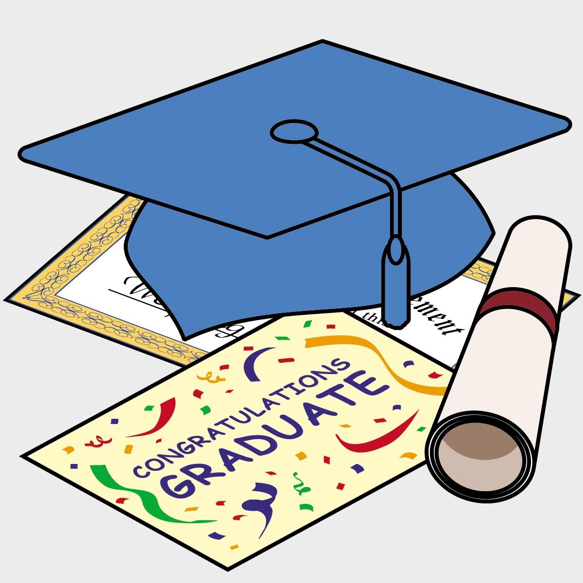 Preschool graduation clip art free.