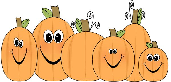 Preschool Fall Clipart Pumpkin.