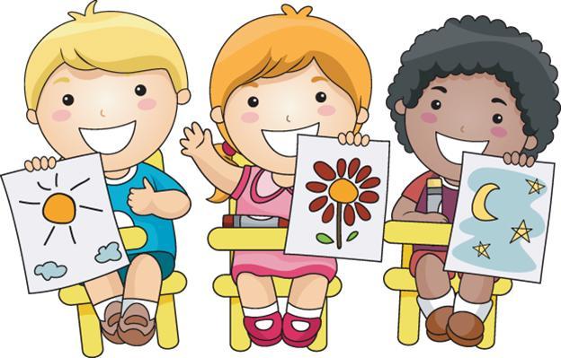 Preschool Art Clipart.
