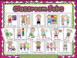 Image result for free printable preschool job chart pictures.