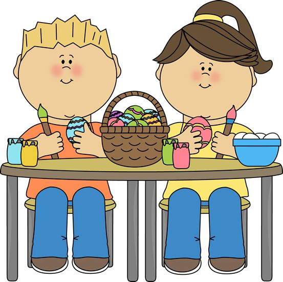 Preschool Easter Clipart.