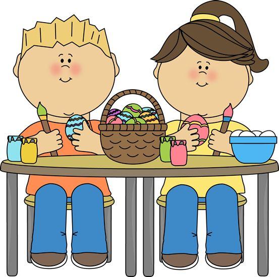 Preschool Easter Clipart.