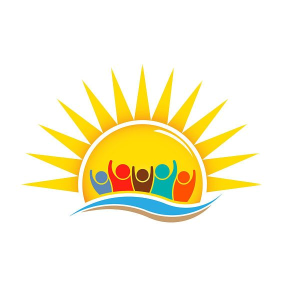 Business Logo to Print or Web.Children Logo Summer Children.