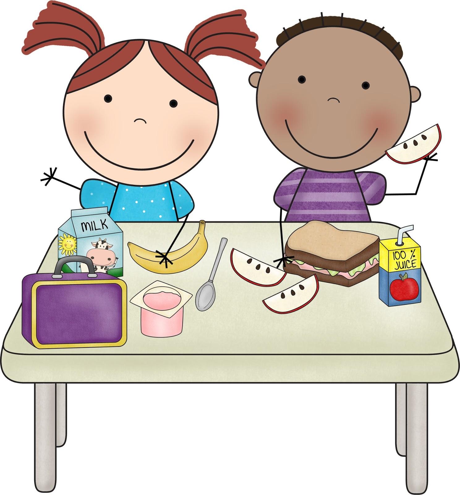 Preschool Lunch Clipart.