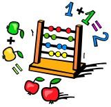 Kindergarten math clip art.
